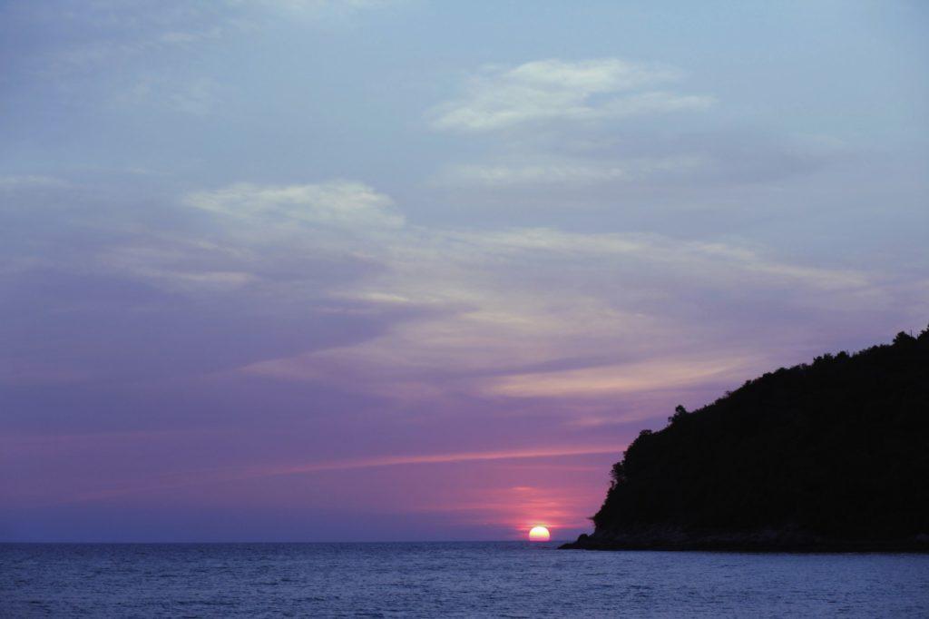 purple haze sunset