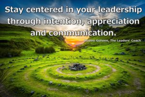 Being A Centered Leader