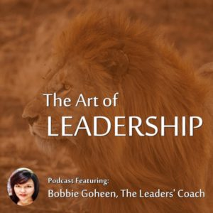 bobbie goheen lion the art of leadership podcast