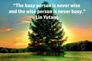 Being Busy Does Not Make You A Leader