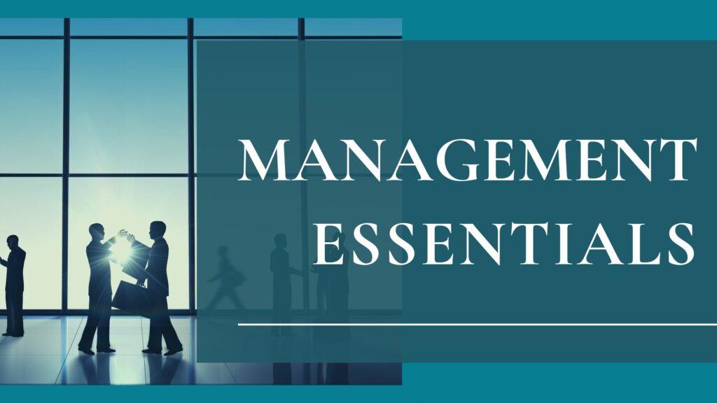 Synthesis Management Group Management Essentials